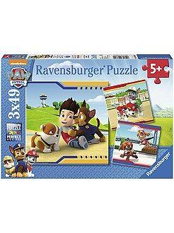 Giochi - 3 puzzle 'Paw Patrol' della Ravensburger - Kiabi