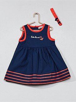 Vestiti, gonne - Abito 'Little Marcel' + fascia - Kiabi
