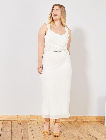 new styles ecd83 849d7 Vestiti da sera Taglie forti donna | beige | Kiabi