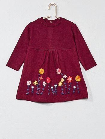 Bambina 0-36 mesi - Abito maglia a fiori - Kiabi