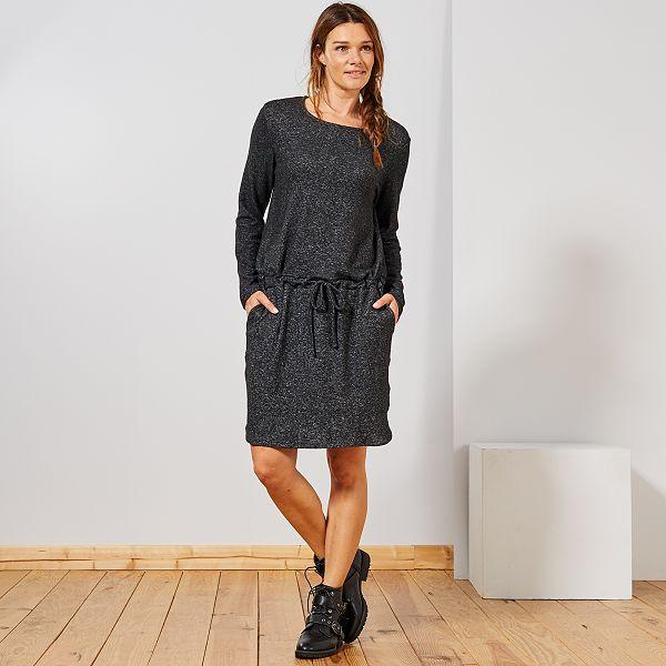 premium selection bc446 91941 Abito maglia morbida Donna - GRIGIO - Kiabi - 12,00€
