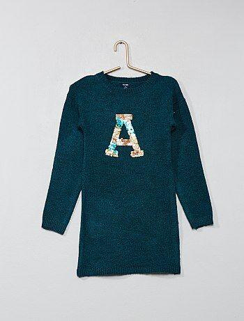 vestito maglia bambina