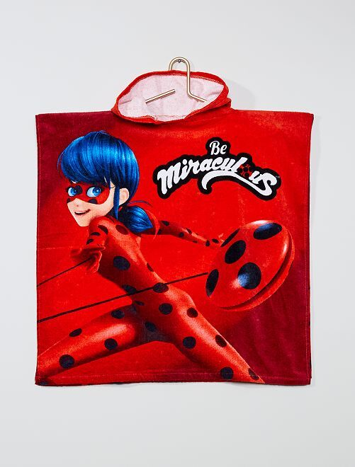 Accappatoio 'Miraculous'                             rosso