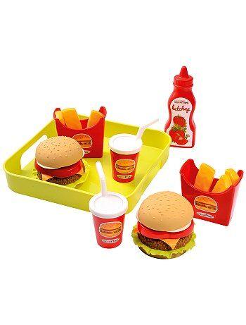 Accessori da cucina fast food giocattolo - Kiabi