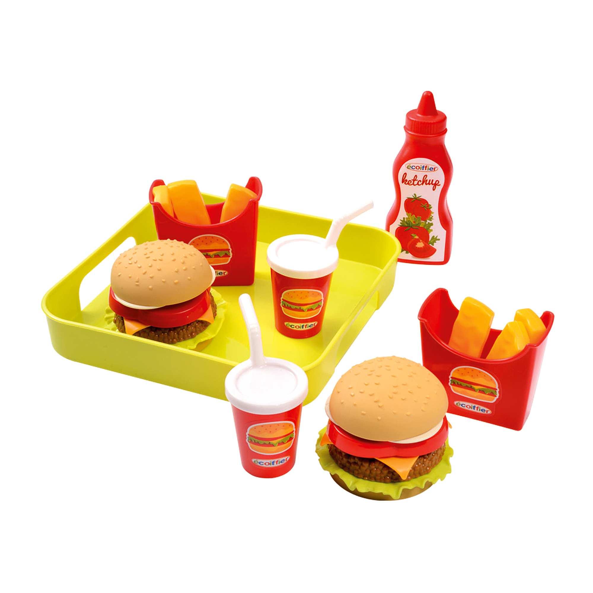 Accessori da cucina fast food giocattolo infanzia bambina for Accessori cucina giocattolo