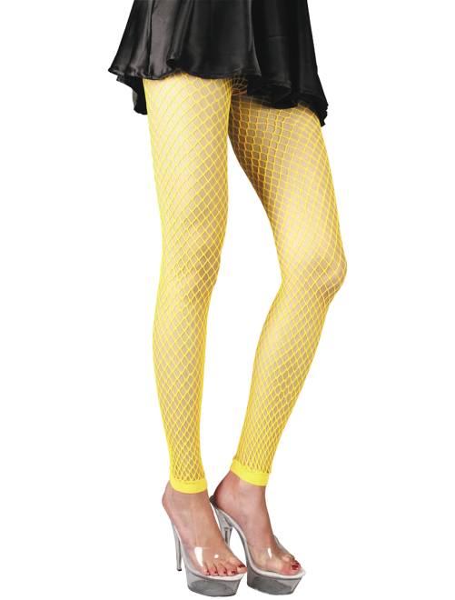 Accessorio leggings fluorescenti                                         giallo fluorescente