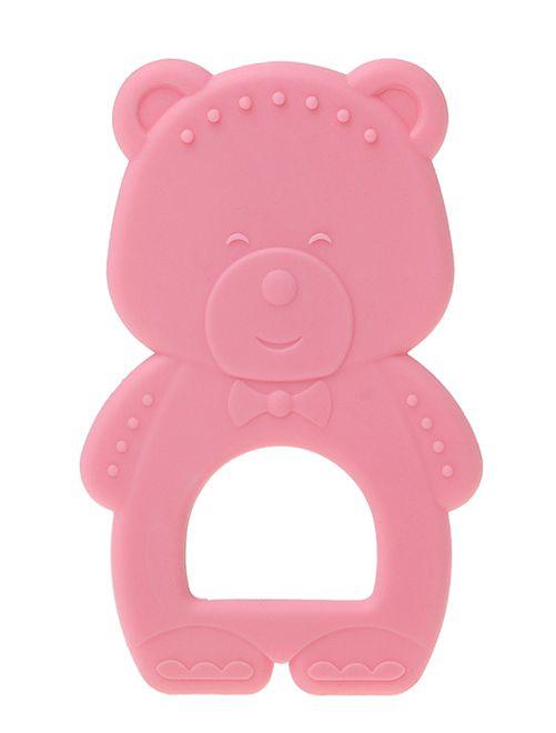 Anello dentizione 'orso'                                         rosa Neonata