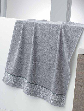 Asciugamano da bagno maxi 150 x 90 cm 450 g - Kiabi