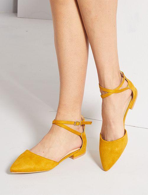 Ballerine aperte                                         giallo