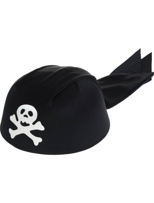 Bandana da pirata                             nero Accessori