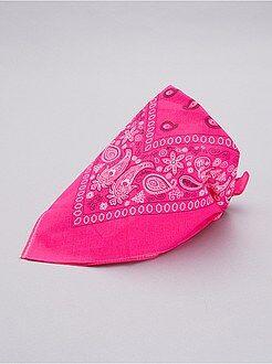 Accessori - Bandana rosa fluorescente - Kiabi