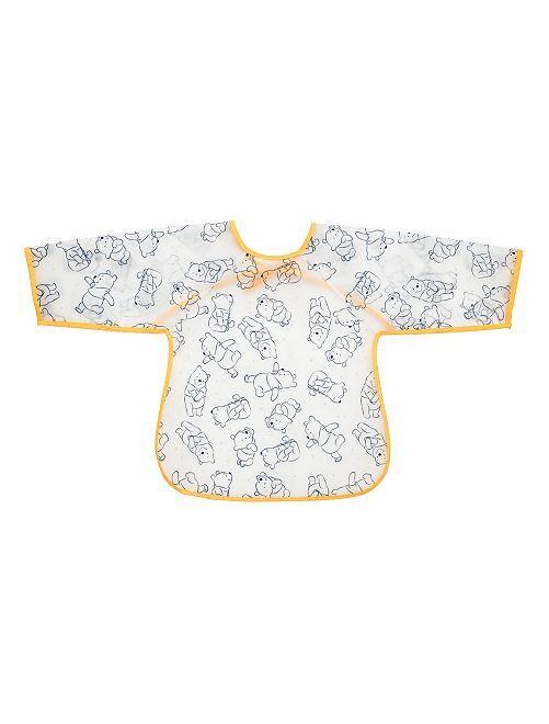 Bavaglino con maniche ''Winnie the Pooh''                             grigio giallo