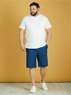 Bermuda, pantaloncini - Bermuda chino tinta unita twill leggero - Kiabi