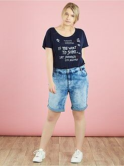 Short in jeans - Bermuda denim