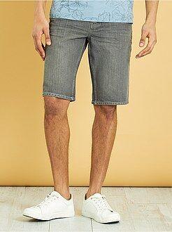 Bermuda, pantaloncini - Bermuda denim puro cotone - Kiabi