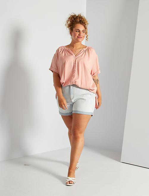Bermuda in jeans                             BLU