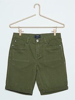 Bermuda jeans colorati