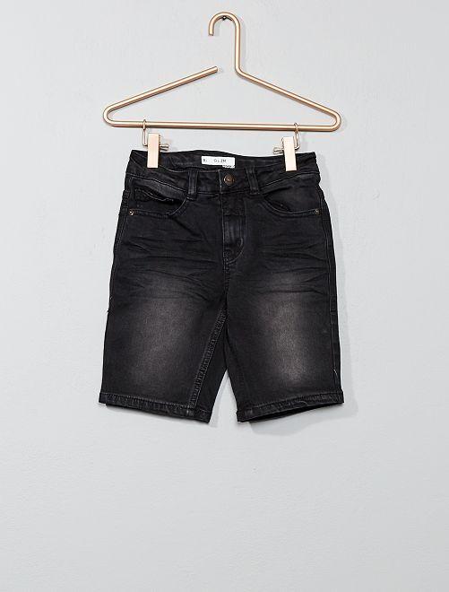 Bermuda jeans slim                             NERO Infanzia bambino