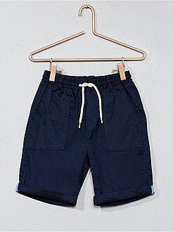 Pantaloncini, bermuda - Bermuda regular bitessuto - Kiabi