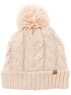 Sciarpe, guanti, berretti - Berretto maglia grossa fili brillanti