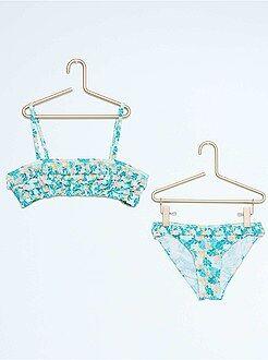 Costumi da bagno, spiaggia - Bikini a fascia volant