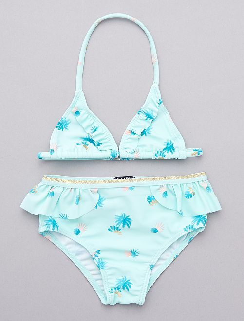 Bikini 'palma'                             BLU Neonata