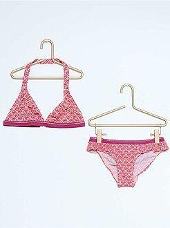Costumi da bagno, spiaggia - Bikini stampa etnica