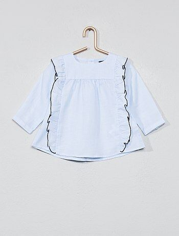 dac7a7af5b Saldi camicie maniche corte e lunghe, in cotone, di jeans Neonati ...