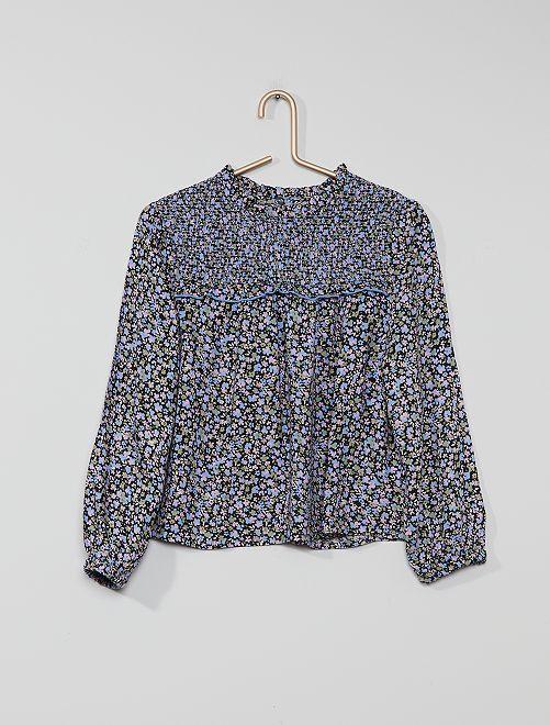 Blusa floreale                                         BLU