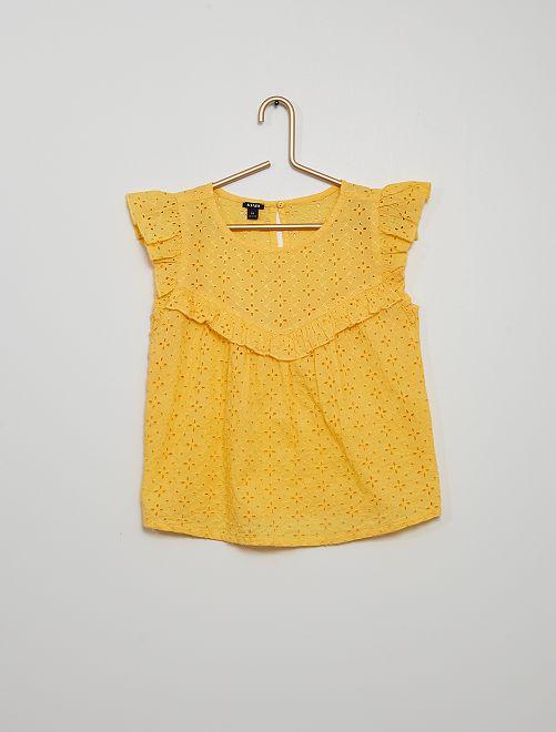 Blusa                                                                                                     giallo dorato