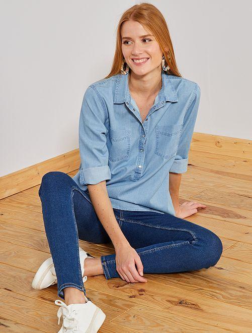Blusa jeans 'JDY'                             denim Donna
