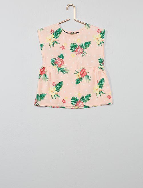 Blusa stampata                                                                                         ROSA Infanzia bambina