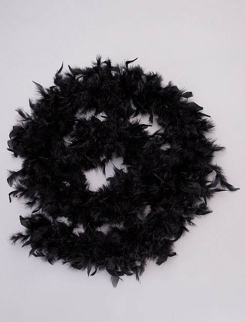 Boa con piume                                                                             nero