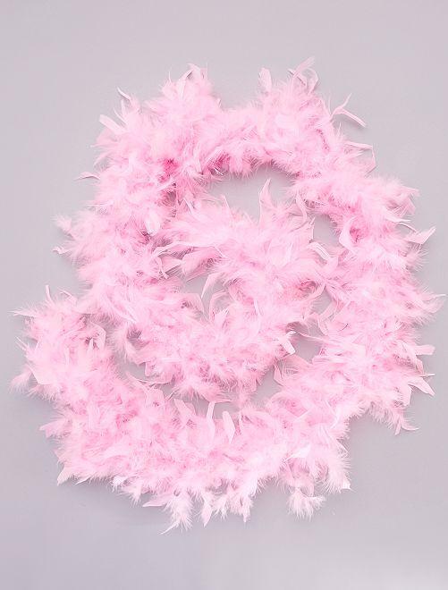 Boa con piume                                                                             rosa