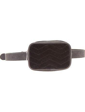 Borsa cintura velluto - Kiabi