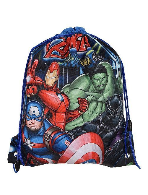 Borsa da piscina 'Avengers'                             BLU
