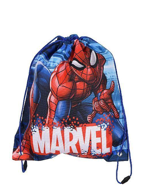 Borsa da piscina 'Spider-Man'                             blu/rosso
