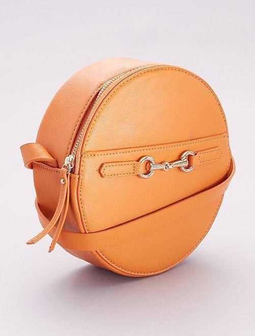 Borsa rotonda a tracolla                             arancione