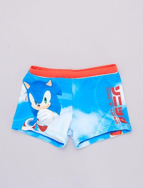 Boxer mare stretch  'Sonic' 'Sega'                             rosso
