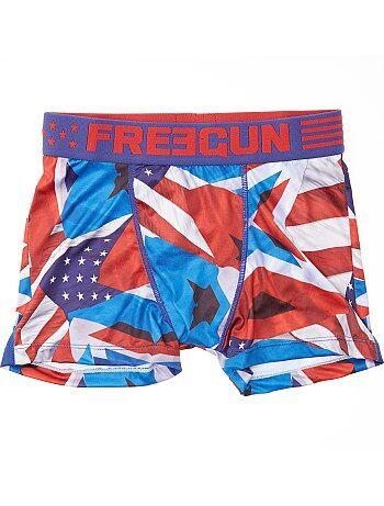 Boxer stampa 'Bandiera americana' 'Freegun' - Kiabi