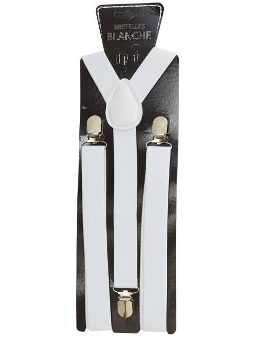 Bretelle tinta unita accessori bianco kiabi