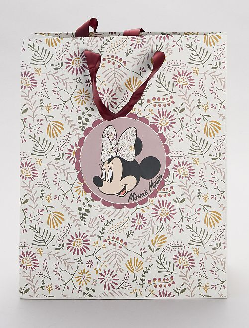 Busta regalo 'Minnie'                             bianco