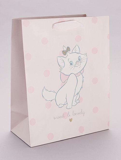 Busta regalo 'Minou' 'Gli Aristogatti' 'Disney'                             rosso