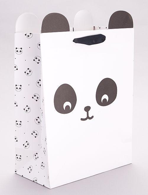 Busta regalo 'Panda'                                         NERO