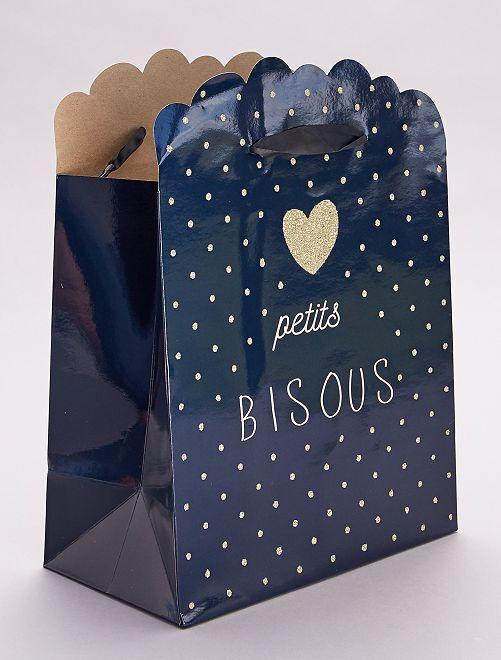 Busta regalo per neonato                                                                                         blu