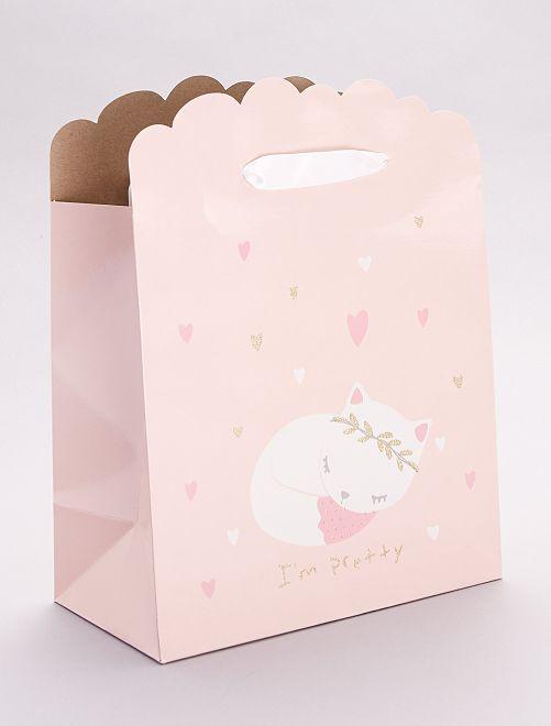 Busta regalo per neonato                                                                 rosa