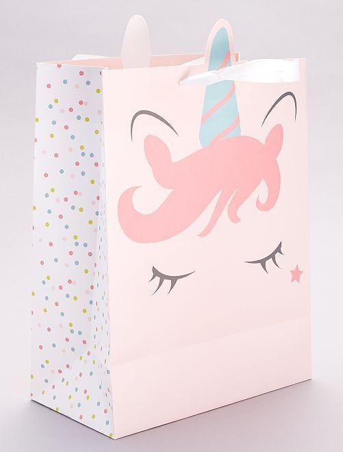 Busta regalo 'Unicorno'                                         ROSA