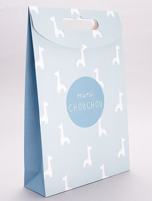 Bustina regalo in carta riciclata                                                     VERDE