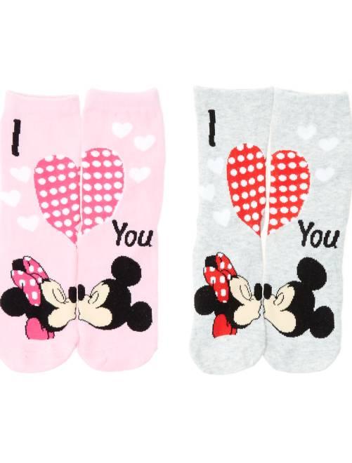 Calzini 'Disney Minnie'                                         grigio rosa Infanzia bambina