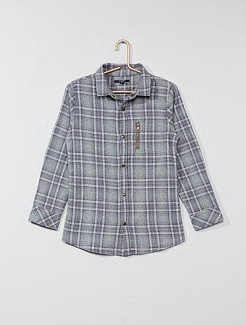 Camicia a quadretti flanella - Kiabi